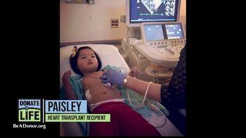 Donate Life America TV Spot, 'Paisley' - Thumbnail 3