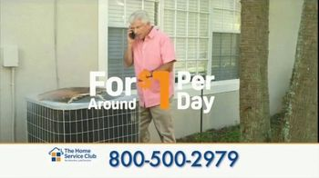 The Home Service Club TV Spot, 'Dollar a Day'