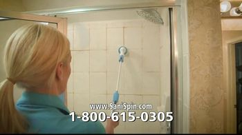 Hurricane Sani-Spin TV Spot, 'Power Scrub Brush' - Thumbnail 5