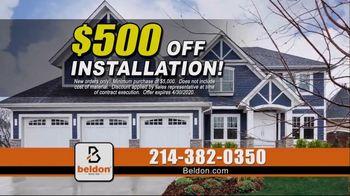 Beldon Siding TV Spot, 'Instant Curb Appeal: $500 Off' - Thumbnail 5