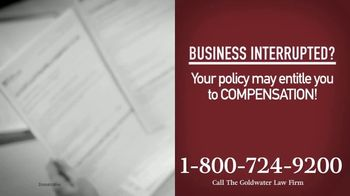Goldwater Law Firm TV Spot, 'Affected by the Pandemic: Help File Your Claim' - Thumbnail 2