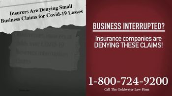 Goldwater Law Firm TV Spot, 'Affected by the Pandemic: Help File Your Claim' - Thumbnail 3