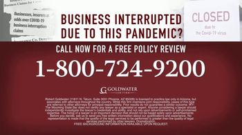 Goldwater Law Firm TV Spot, 'Affected by the Pandemic: Help File Your Claim' - Thumbnail 7