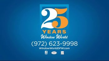 Window World TV Spot, '25 Years of Commitment: 25 Months No Interest' - Thumbnail 8