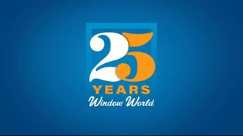 Window World TV Spot, '25 Years of Commitment: 25 Months No Interest' - Thumbnail 1