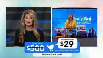 MorningSave TV Spot, 'Early Bird Bargains' - Thumbnail 5