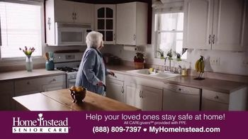 Home Instead Senior Care TV Spot, 'Stay Safe at Home'