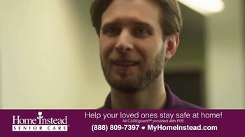 Home Instead Senior Care TV Spot, 'Stay Safe at Home' - Thumbnail 2