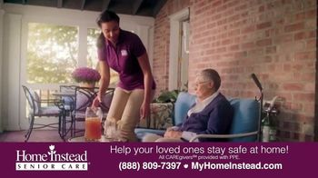 Home Instead Senior Care TV Spot, 'Stay Safe at Home' - Thumbnail 4