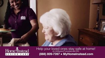 Home Instead Senior Care TV Spot, 'Stay Safe at Home' - Thumbnail 6