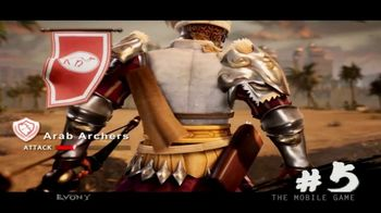 Evony: The King's Return TV Spot, 'Top Five Historical Troops' - Thumbnail 1