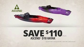 Bass Pro Shops Camping Classic TV Spot, 'Dome Tents and Kayaks' - Thumbnail 4