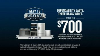 Maytag Month TV Spot, 'On/Off: $700 Rebate' Featuring Colin Ferguson - Thumbnail 8