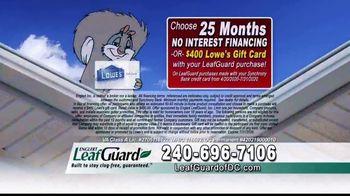 LeafGuard of DC $99 Install Sale TV Spot, 'Damage' - Thumbnail 2