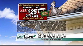 LeafGuard of DC $99 Install Sale TV Spot, 'Damage' - Thumbnail 6