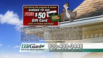 LeafGuard of Colorado $99 Install Sale TV Spot, 'Give Up Gutter Cleaning' - Thumbnail 5