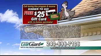 LeafGuard of DC $99 Install Sale TV Spot, 'Overflowing Gutters' - Thumbnail 6