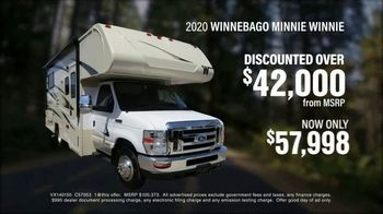 La Mesa RV TV Spot, 'Discounted: 2020 Winnebago Minnie Winnie'