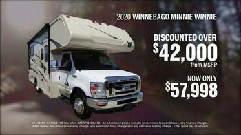 La Mesa RV TV Spot, 'Discounted: 2020 Winnebago Minnie Winnie' - Thumbnail 4