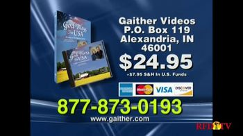 Gaither Music Group TV Spot 'God Bless the USA DVD' - Thumbnail 6