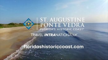 St. Augustine, Ponte Vedra & The Beaches Visitors and Convention Bureau TV Spot, 'Open Spaces' - Thumbnail 8