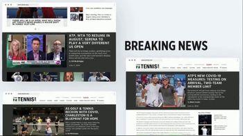 TENNIS.com TV Spot, 'Breaking News' - 92 commercial airings