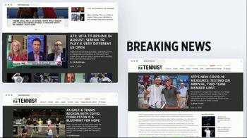 TENNIS.com TV Spot, 'Breaking News' - 92 commercial airings