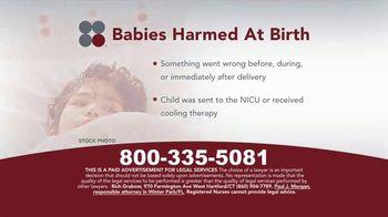 Sokolove Law TV Spot, 'Babies Harmed at Birth' - Thumbnail 3