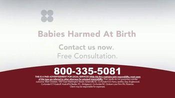 Sokolove Law TV Spot, 'Babies Harmed at Birth' - Thumbnail 5