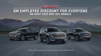 GMC Employee Discount for Everyone TV Spot, 'Weekend Starts Now' Song by Sugar Chile Robinson [T2] - Thumbnail 6
