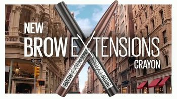 Maybelline New York Brow Extensions Crayon TV Spot, 'Thicker Brows' - Thumbnail 2
