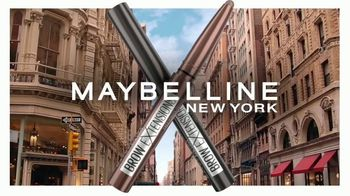 Maybelline New York Brow Extensions Crayon TV Spot, 'Thicker Brows' - Thumbnail 3