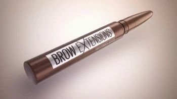 Maybelline New York Brow Extensions Crayon TV Spot, 'Thicker Brows' - Thumbnail 7