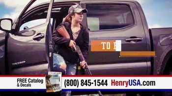 Henry Repeating Arms TV Spot, 'For Your Home and the Field'