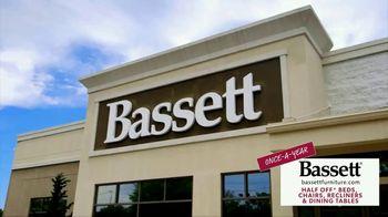 Bassett Once-A-Year Half Off Weekend TV Spot, 'We Love It' - Thumbnail 5