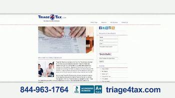 Triage4Tax.com TV Spot, 'Relieve the Pain' - Thumbnail 6