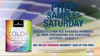 ACE Hardware TV Spot, 'Free Sample Saturday' - Thumbnail 3