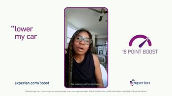 Experian Boost TV Spot, 'Helped Me Lower My Car Payments' - Thumbnail 7