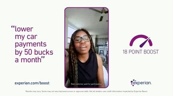 Experian Boost TV Spot, 'Helped Me Lower My Car Payments' - Thumbnail 8