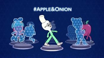 Cartoon Network Arcade App TV Spot, 'Apple & Onion Figures'