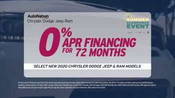 AutoNation Summer Clearance Event TV Spot, 'Back on the Road: Factory Incentives' - Thumbnail 3