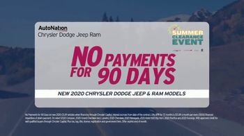 AutoNation Summer Clearance Event TV Spot, 'Back on the Road: Factory Incentives' - Thumbnail 4