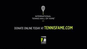 International Tennis Hall of Fame TV Spot, 'Celebrating the History of Tennis' - Thumbnail 9