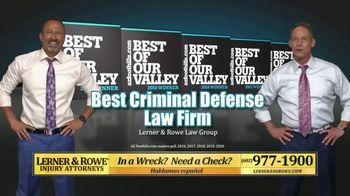 Lerner and Rowe Injury Attorneys TV Spot, 'Look No Further'