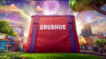 Grubhub TV Spot, 'Reward Yourself: $10 Off Perk' Song by Fatboy Slim - Thumbnail 9