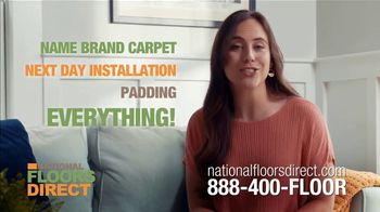 National Floors Direct TV Spot, 'Entire Room: $333'