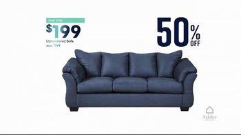Ashley HomeStore End of Season Clearance Event TV Spot, 'Up to 70 Percent: Sofa' - Thumbnail 4