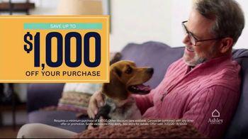 Ashley HomeStore End of Season Clearance Event TV Spot, 'Up to 70 Percent: Sofa' - Thumbnail 5