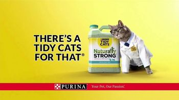 Purina Tidy Cats Naturally Strong TV Spot, 'A Natural Litter That Actually Works' - Thumbnail 8