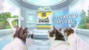 Purina Tidy Cats Naturally Strong TV Spot, \'A Natural Litter That Actually Works\'